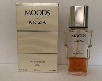 Moods by Krizia Perfume Eau de Parfum Spray 0.85oz/25ML Vintage