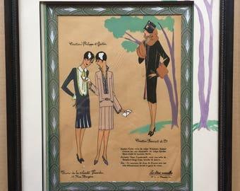 VINTAGE frame: Fashion design
