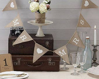 Vintage Mr and Mrs Bunting