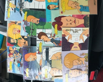 Beavis and Butthead collectible cards