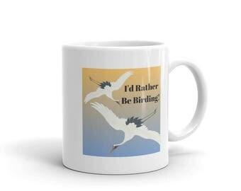I'd Rather Be Birding Mug