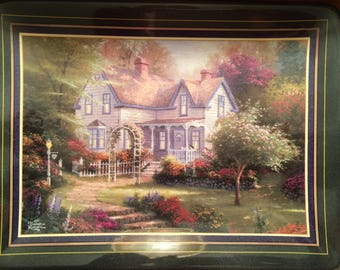 Thomas Kinkade Hometown Memories-Home Is Where the Heart Is II