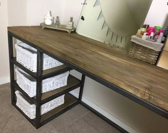 Modern dressing table vintage reclaimed upcycled