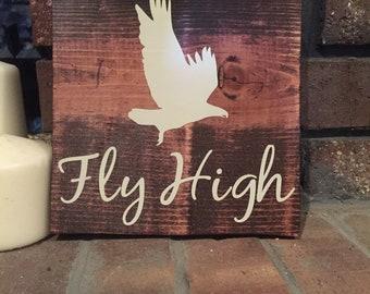 Woodland Motivational Signs, eagle