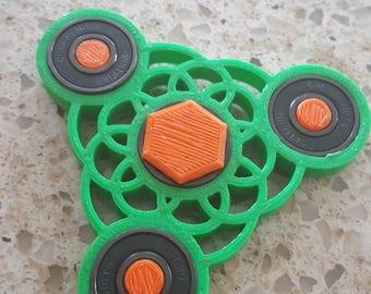Mandala spinner fidget spinner