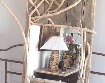 Shelf wall mirror