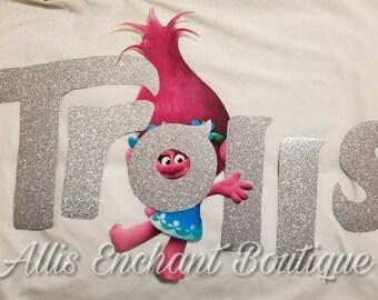 Trolls Picture Sign, Trolls Birthday , Trolls Sign , Poppy Birthday , Branch Birthday, Trolls Backdrop, Trolls Banner