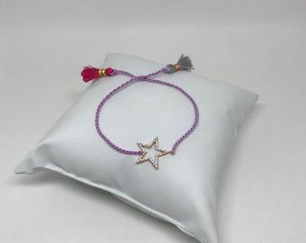 Chic star bracelet