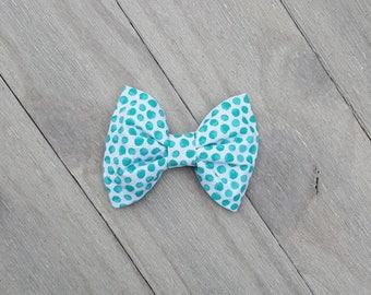 Blue Turquoise Baby Bow - Headband Bow