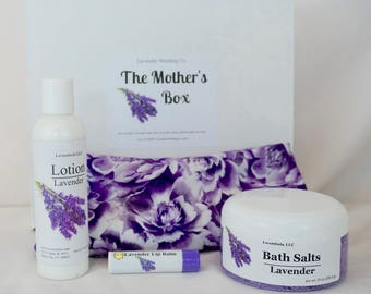 The Mother's Pamper Gift Box - Stress-reducing, Calming and Relaxing