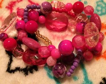 Triple Glam Bracelet