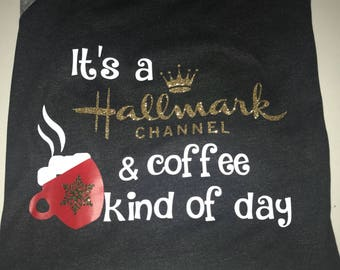 It's a Hallmark channel and coffee kind of day