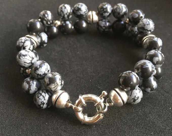 Free shipping within NL bracelet bracelet natural stone gemstone Snowflake