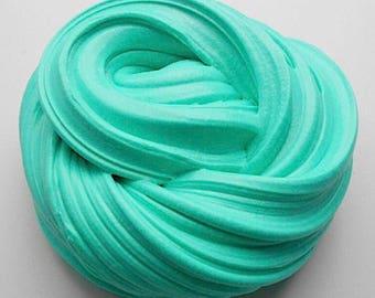 Teal Fluffy Slime