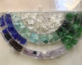 Genuine Sea Glass hand collected 20 pieces bulk genuine mixed