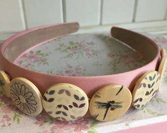 Quirky Vintage Dragonfly AliceBand