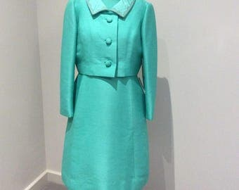Vintage 1980's Petite Francaise dress and jacket