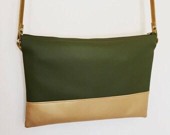 Clutch shoulder bag