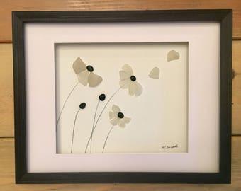 """Petals 15"""" x 12"""" Framed"""
