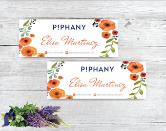 Piphany facebook cover, Piphany Facebook Banner, Custom Piphany, Buy 10 Get 1 Free, Printable Card - Digital file TP04