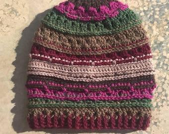 Crochet Slouch Beanie