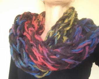 WOOL and alpaca scarf