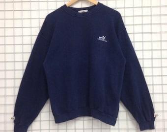 Vintage Puma Excellent Golf Wear Sweatshirts Small Logo Nice Design