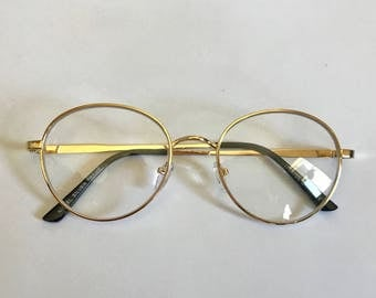 Simple Round 80's Spectacles