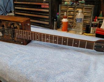 1957 Virginia License Plate guitar