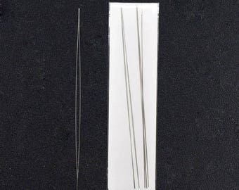 1 needle to thread the beads 125x0.6mm