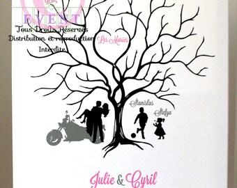 Tree wedding personalized 50/60 prints