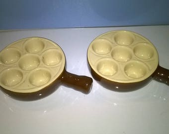 588) set of 2 dishes cell