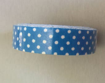 Blue Royal dots tape