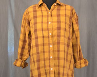 Mellow Yellow Check Shirt