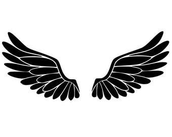 """Stickers decal vinyl """"Wings"""" """"Wings"""""""
