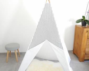 RESERVE - tipi - tente de jeu - décoration pour chambre enfant - teepee - montessori - tipi enfant - tipi indien - tipi déco pour enfant
