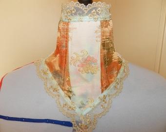 baroque style neck corset marie antoinette