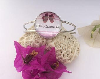 Bracelet 100% reunion gift idea woman jewel meeting 974 Creananas • • •