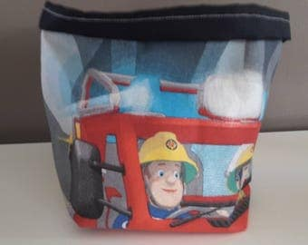 basket fabric sam fireman/layers/toiletries/decoration products storage