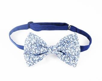 Bowtie Liberty pepper blue