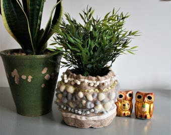 Plant and stash pot holder