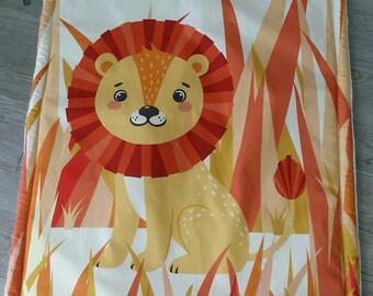 Lion - birthday gift - blanket baby blanket handmade
