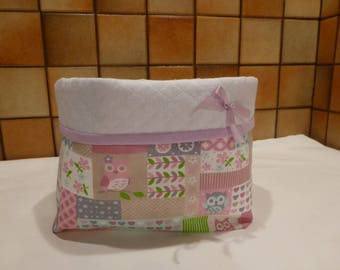 Storage for nursery - Huguette OWL pouch