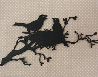 """Birds"" for scrapbooking or cardmaking cutting"