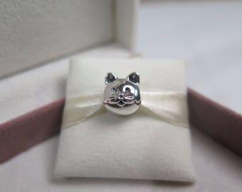Genuine Pandora Curious Cat Charm 791706