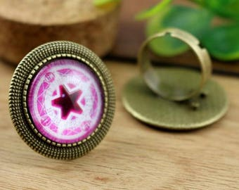20 mm/1 ring 20 mm cabochon bronze within 15 days