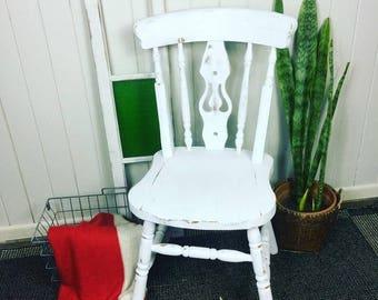 Rustic Farmhouse Occasional Chair
