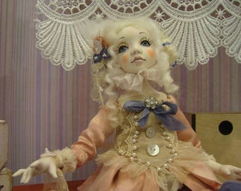 sold. Vincentia OOAK art doll collectible doll