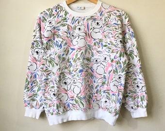 Vintage DOWN UNDER Ken Done sweatshirt Full Design