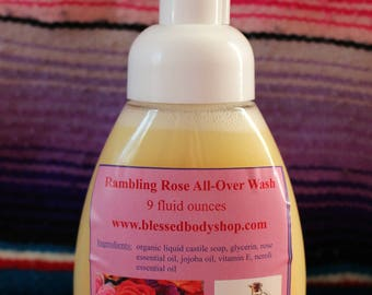 Rambling Rose All-Over Wash
